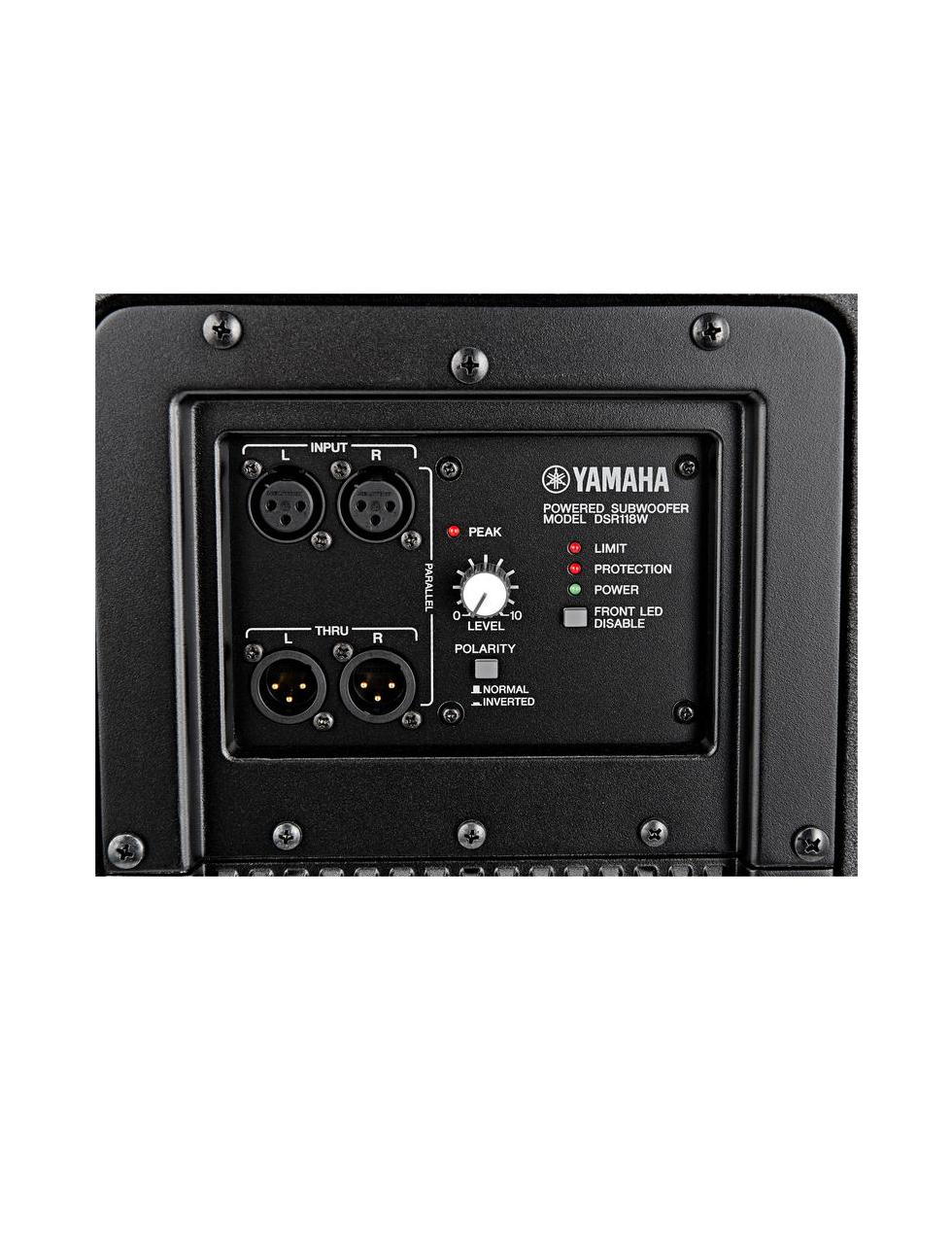 Yamaha dsr118w laboheme for Subwoofer yamaha dsr118w